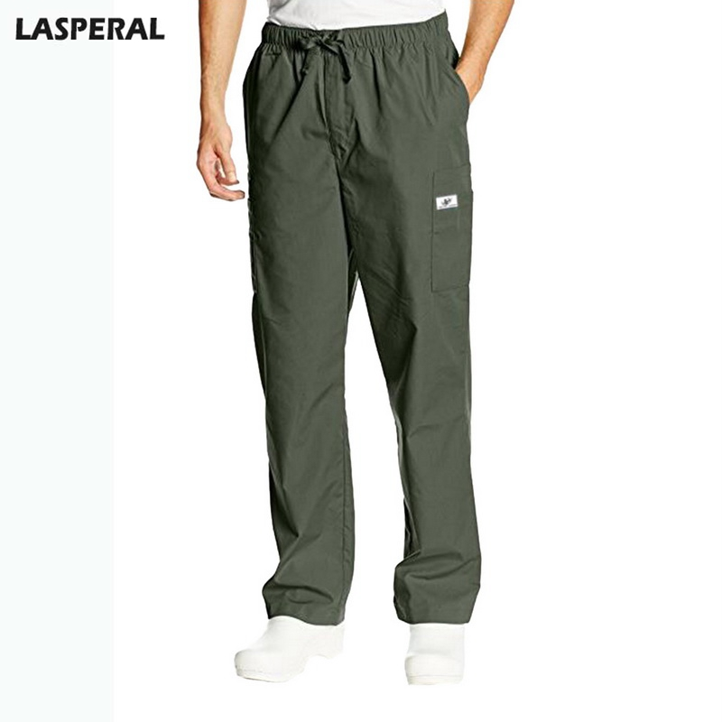 LASPERAL 2018 Casual Pants Men Slim Fit Plus Size Pants Sweatpants Mens Work Pants Fashion Trousers Male Brand Clothing 2018