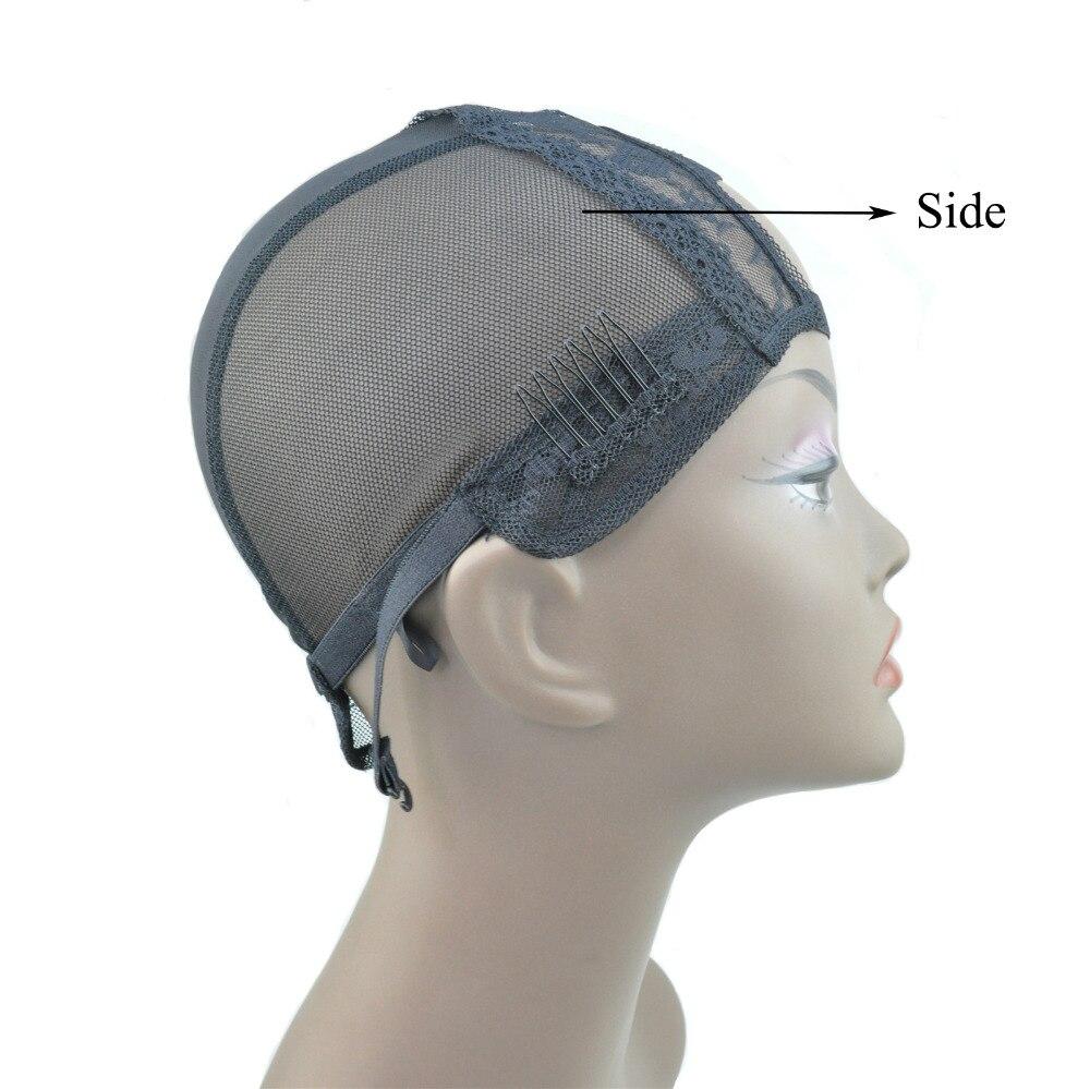 2 Comb-M veličina-široki U dio strech čipke tkanje perika kapa - Njega kose i styling - Foto 4