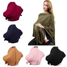 Pregnant Breastfeeding Nursing Covers Multi-functional Soft Baby Stretch Privacy Cover Infant Car Seat Stroller Breast Feeding