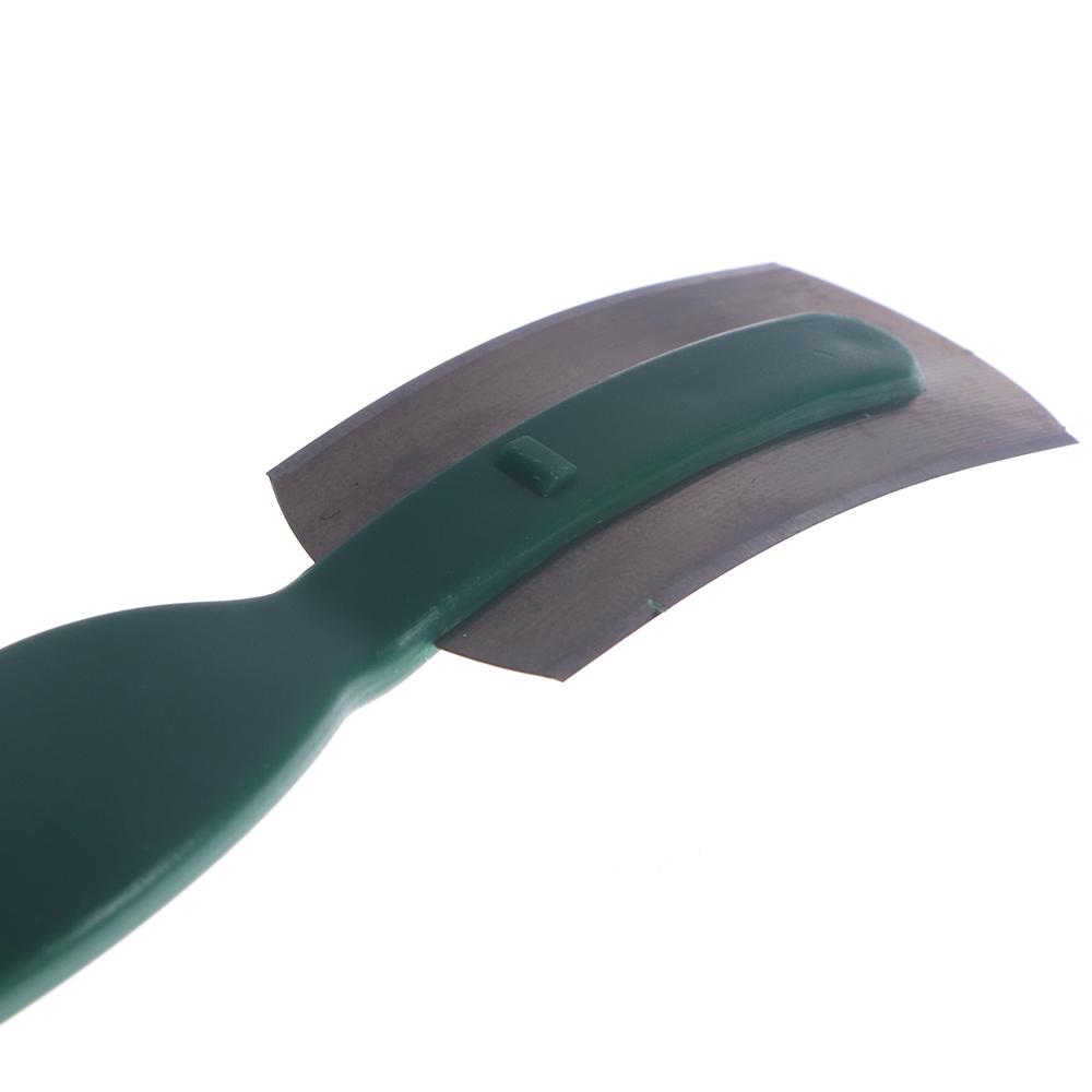Bread Knife Baguette Cutting French Toas Cutter Curved Bread Cutter with Thin Carbon Steel Blade and ABS Handle