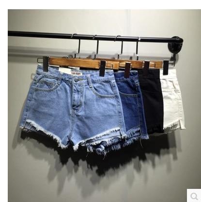 on sale summer Women Fashion Frayed Tassel Denim sexy Shorts jeans Shorts beggar tassel Hot Ripped casual vadim feminino Shorts