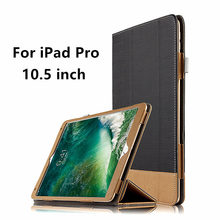 Case For Apple iPad Pro 10.5 inch New 2017 Leather Smart Cover For 10.5 iPadPro ipad10.5 Tablet Protector Protective PU cases