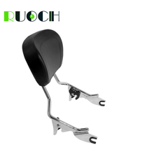 RUOCH Sissy Bar for Harley Touring Backrest Electra Glide Street Road FLHR FLTR FLTRX 2009-2019 Motorcycle Accessories