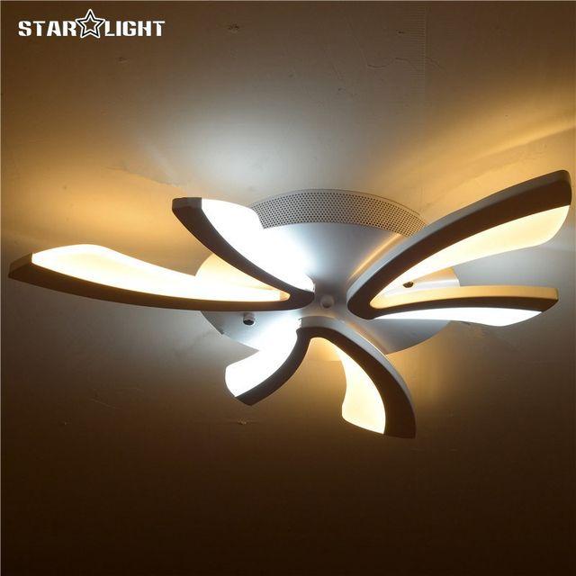 flush mount modern ceiling chandelier for living room acrylic bicolor light guide plate avize home lighting home lighting90 home