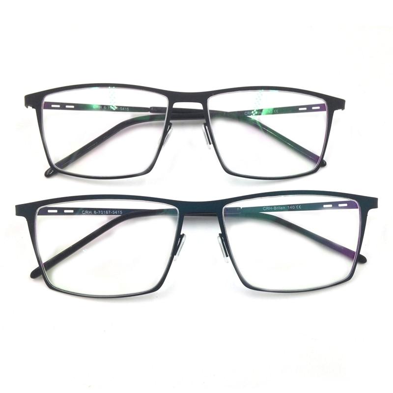 Laura Fada Estilo Formal Homens Óculos de Armação Grande Quadro - Acessórios de vestuário