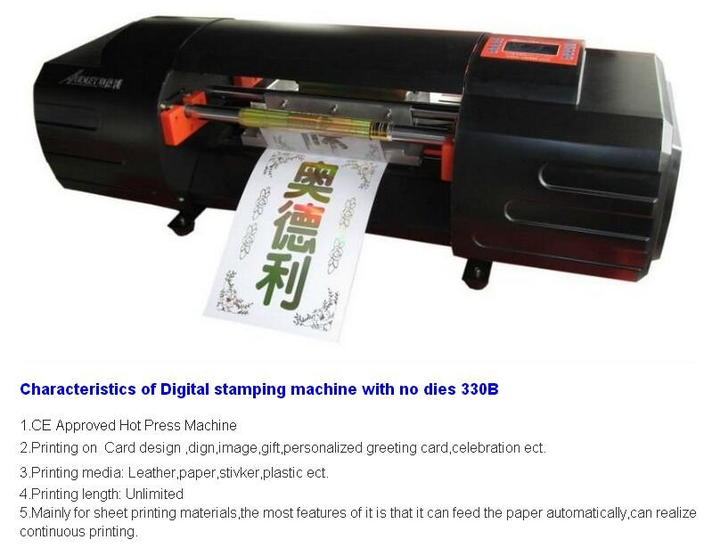 Us 3719 07 7 Off Romantic Wedding Cards Digital Foil Printing Machine Didital Printer Adl 330b Ribbon Printing Machine In Printers From Computer