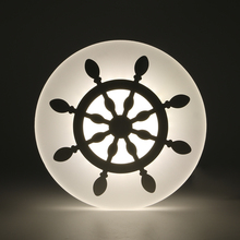 modern wall sconce bathroom bedroom lamp with ferris wheel indoor decoration light ,14w ac 220v Wall Mounted