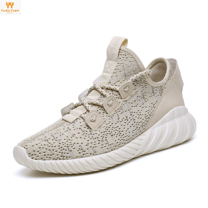 Sports & Entertainment Clever 2018 Autumn New Korean Version Of The Wild Flying Woven Sets Of Feet Lovers Casual Sports Mens Shoes Breathable For Coconut W To Invigorate Health Effectively