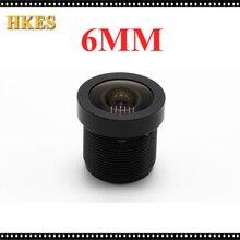 "CCTV Lens 1080P 65degreee 1/2.7"" 6mm For HD Full HD CCTV Camera IP Camera M12*0.5 MTV Mount"