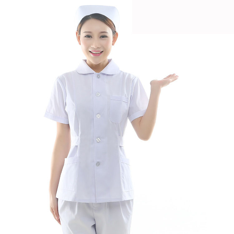 Nurse Uniform Medical Suits Short-sleeve Cosmetic Dentistry Hospital Pharmacy Emergency Work Uniforms Clothes