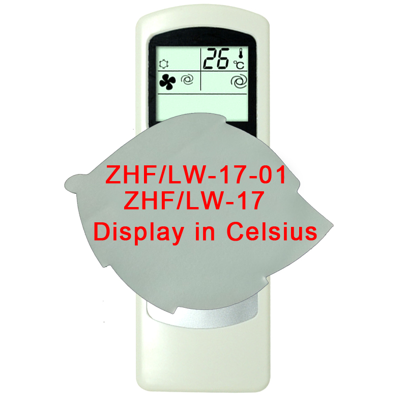 Replacement For THERMAL <font><b>ZONE</b></font> <font><b>Air</b></font> Conditioner Remote <font><b>Control</b></font> ZHF/LW-17-1 ZHF/LW-17