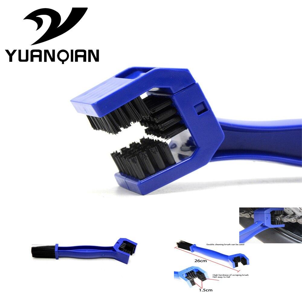 Motorcycles Bike Bicycle Chain Clean Brake Brush Cleaning Gear Remover Cleaner For SUZUKI GSX750 GSX1000 GSX1250 GSX1400 GSX650F