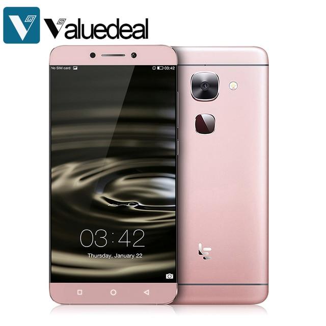 Original Letv Le 2 X620 4G LTE 5.5inch 1920X1080P MTK6797 Deca Core Android 6.0 3GB 16GB 16.0MP Fingrprint ID Type-C Smartphone