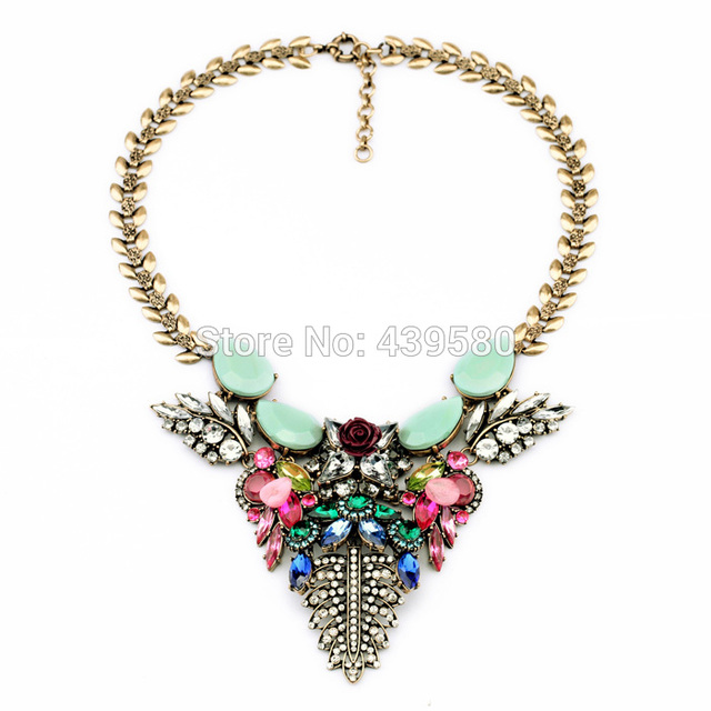 Imitation old gold color rainbow colors statement spring jewelry imitation old gold color rainbow colors statement spring jewelry designs heavy pendants necklaces mozeypictures Gallery