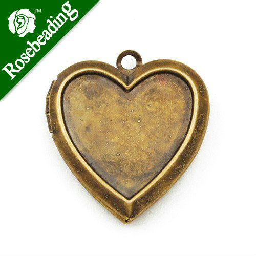 transparent necklace flowers jewelry item pendant from women necklaces chain lockets pink for dried glass gold heart pcs in