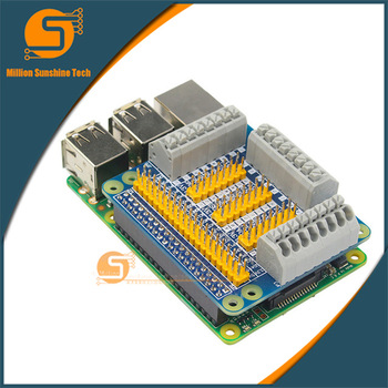 цены Raspberry Pi 3 Model B GPIO Expansion Board Multi-function Extension Adapter Plate for Orange Pi Raspberry Pi 2