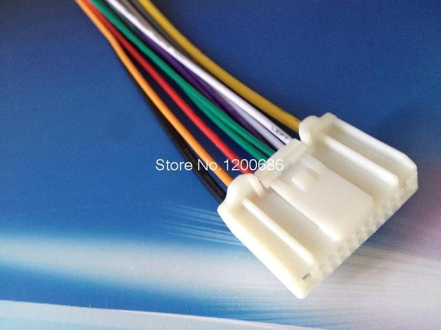 Plugs Into Factory Radio Car Stereo Cd Player Wiring Harness Wire ...