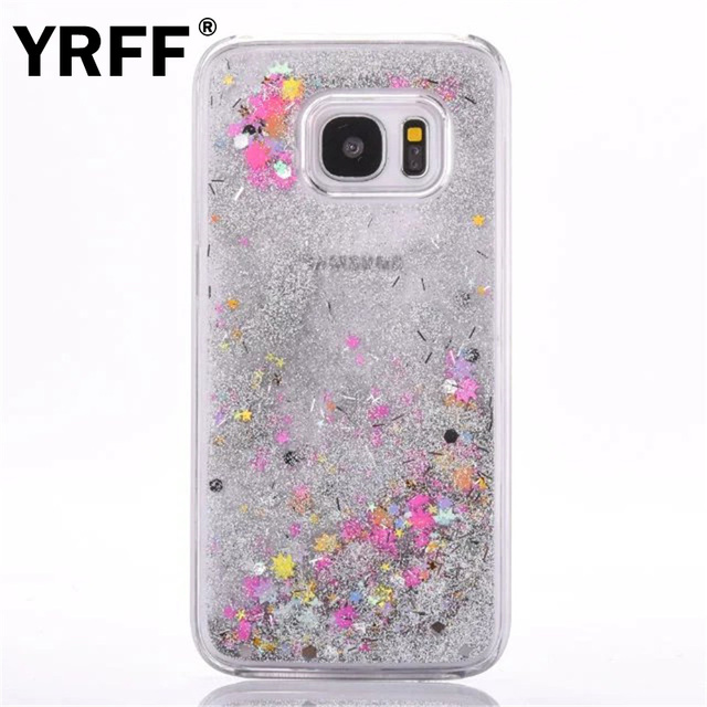 best service f4561 8475f US $2.01 45% OFF|For samsung galaxy s7 edge back cover case Dynamic Liquid  Glitter Sand Quicksand star cover For samsung galaxy s7 edge girl Case-in  ...
