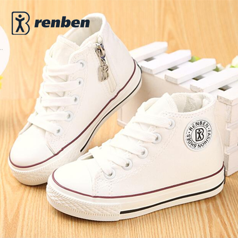 Kids-shoes-for-girl-children-canvas-shoes-boys-sneakers-2017-Spring-autumn-girls-shoes-White-High-Solid-fashion-Children-shoes-4