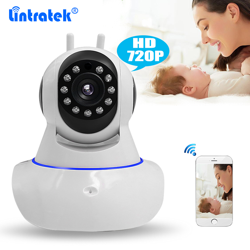 1MP Wireless P2P Double Antenna CCTV Security Camera HD 720P Wifi IP Camera Baby Monitor Pan Tilt Two Way Audio IR Night Vision deha