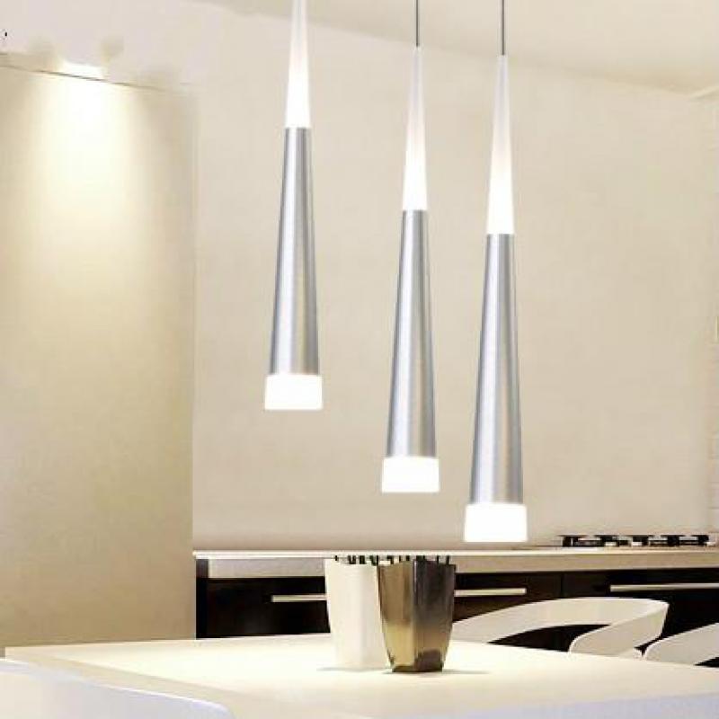 Modern Led Pendant Lights Round Backplate 90-265v Loft Light Dinning Living Study Room Pendant Lamps Kids Room Led Lamps