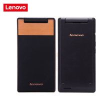 "Original Lenovo A588T Flip Mobile Phone Android 4.4 MTK6582 Quad Core 512MB RAM 4GB ROM Dual Sim 4"" Touch Screen 5.0MP Camera(China)"