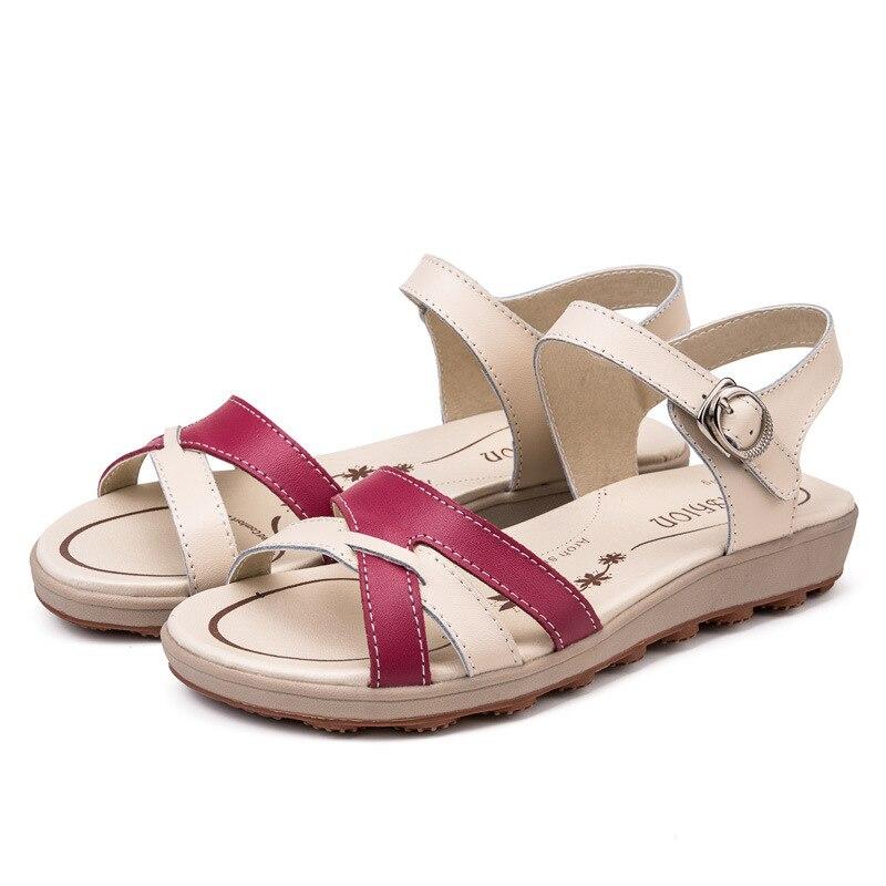 De Zapatos Moda Plataforma Sandalias Red Nuevo Azul Casual Mujer naranja 2018 rosado rosy 36 Tamaño Cielo Zapatillas Baja Jearro 40 Con qYpXxI5