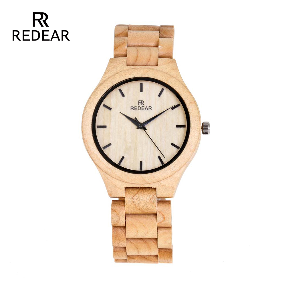 REDEAR Pine Wooden Quartz Watch Season Gift Edition - Әйелдер сағаттары - фото 2