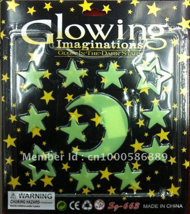 Glowing imaginations-Glow In The Dark Autocollants-Angelot et Angel Pack