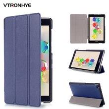 VTRONHYE PU Leather Cover Stand Case funda for Asus Zenpad C 7.0 Z170C Z170MG Z170CG Tablet Case+stylus pen