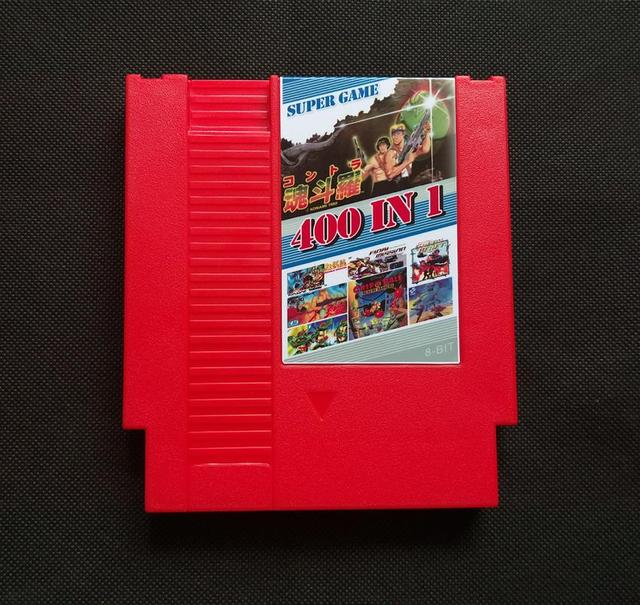 400 In 1  72 pins 8 bit Game for NES