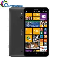 Оригинальный Nokia Lumia 1320 мобильного телефона 1 ГБ Оперативная память 8 ГБ Встроенная память Цвет Белый Черный Orange желтый Камера 5mp Wi Fi GPS Bluetooth с