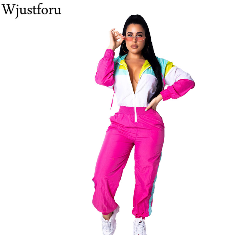 Wjustforu Fashion Casual   Jumpsuit   Rompers Womens Tracksuit Zippers Striped   Jumpsuit   Long Sleeve Pockets Slim Overalls Vestidos