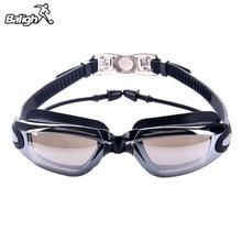 Мужские высококачественные силиконовые водонепроницаемые очки для плавания, противотуманные спортивные очки для плавания для женщин