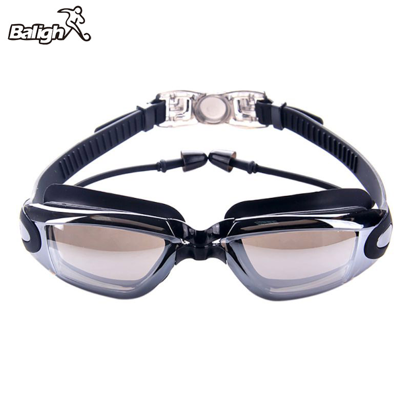 Men High Quality Silicone Waterproof Swimming Goggles Anti Fog Sports Swimming Glasses Women