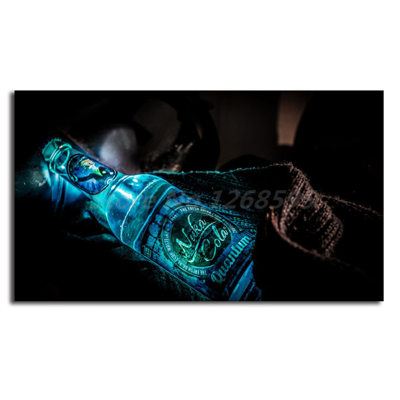 Us 57 5 Offfallout Nuka Cola Quantum Wallpaper Hd Canvas Painting Posters Prints Wall Art Decorative Picture Modern Home Decoration Artwork In