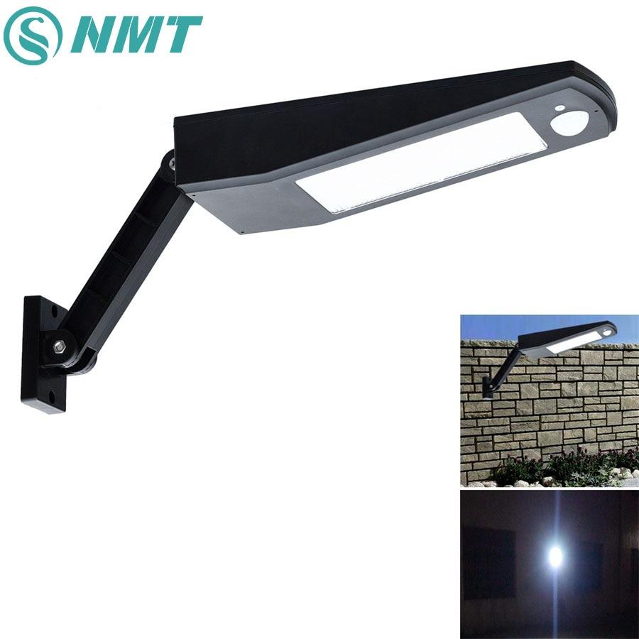 Wireless Solar Lights 48 LED 900LM 4500mAh Auto PIR Motion Sensor Garden Solar Wall Lamp For IP65 Outdoor Waterproof Lighting