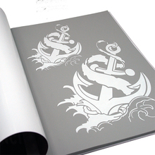 Temporary Airbrush Tattoo Stencil Book Airbrush Stencils Template Booklet Professional Airbrushing Work