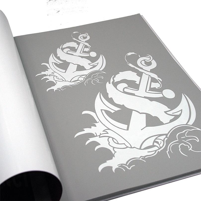 temporary airbrush tattoo stencil book airbrush stencils