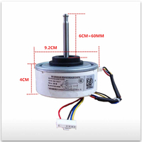 100% new for air conditioner motor RD 310 30 8A L6CBYYL0102 RD 310 30 8A DC motor good working