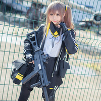 Game Girls Frontline Ump45 Cosplay Costumes Women Girls' Battle Uniform Halloween Carnival UMP 45 Clothes Full Set