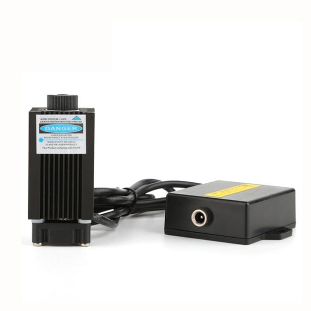 Best Offers High-Power 12V Blue Violet Light Laser-Engraving Laser With Focusing For CREALITY 3D Mini Laser-Engraving 3D Printer
