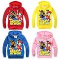 2016 Baby Boys Clothes Jacket Hoodies Cartoon Dog Patrol Clothes Boys Girls Coats Fashion Sweatshirts Kids Boys Hoodies Costume