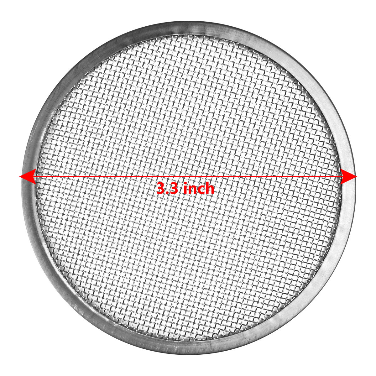 5X 8.4cm Seed Sprouting Mesh Screen Strainer Filter Covers Lids for Mason Jars