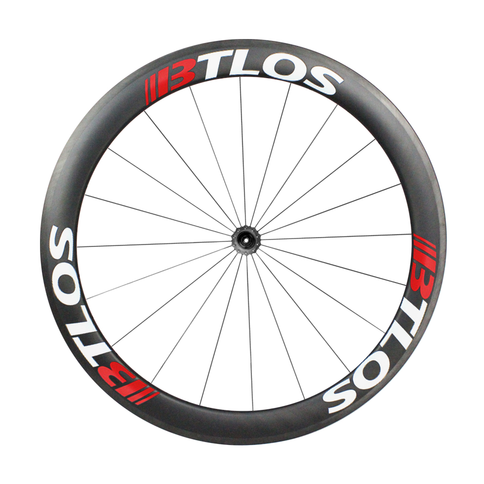 700c wheelset asymmetric 50mm deep aero clincher carbon road bike wheels WRC 50A in Bicycle Wheel from Sports Entertainment