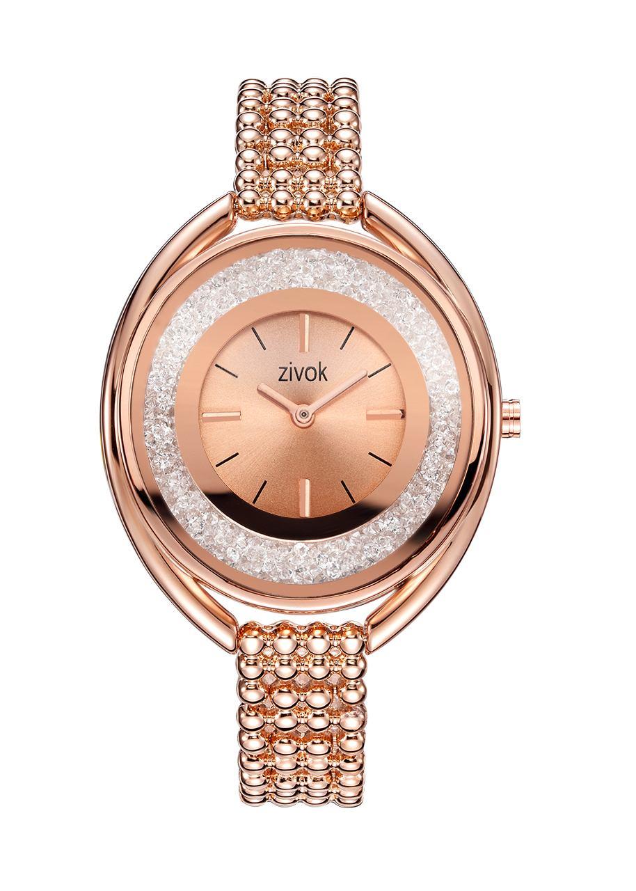 zivok Luxury Women Bracelet Watches Brand Fashion Rose Gold Quartz Lovers Wrist Watch Clock for Women Girls zivok brand luxury women bracelet watches relogio feminino fashion leather quartz lovers wrist watch clock ladies female girl