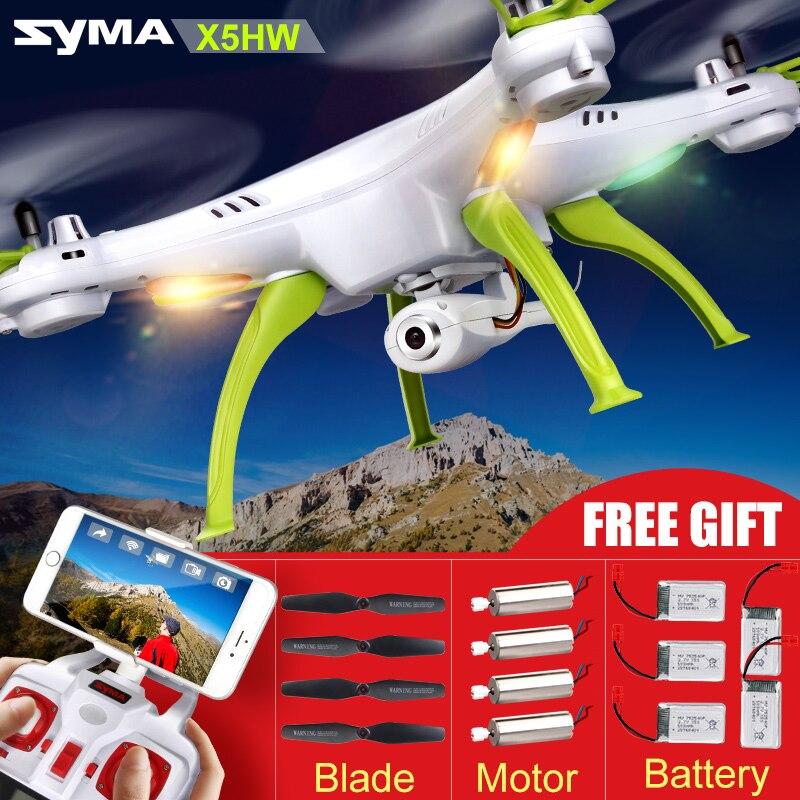 Original Syma X5C X5HC font b Drone b font with Camera HD X5HW X5SW Upgrade FPV