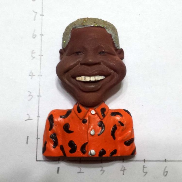 Sudafrica Presidente Nelson Mandela Statua Creativo 3D Frigo Magneti Souvenir Turistici Frigorifero Adesivi Magnetici