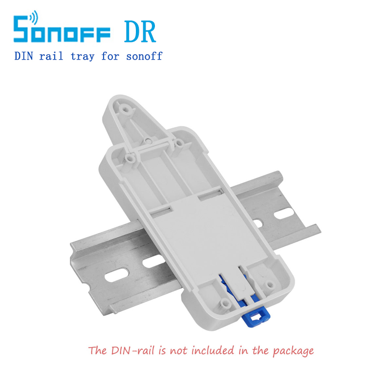 2018 Itead sonoff DR DIN Rail Tray Smart Home Mounted Onto Guide Track Control Intellige ...