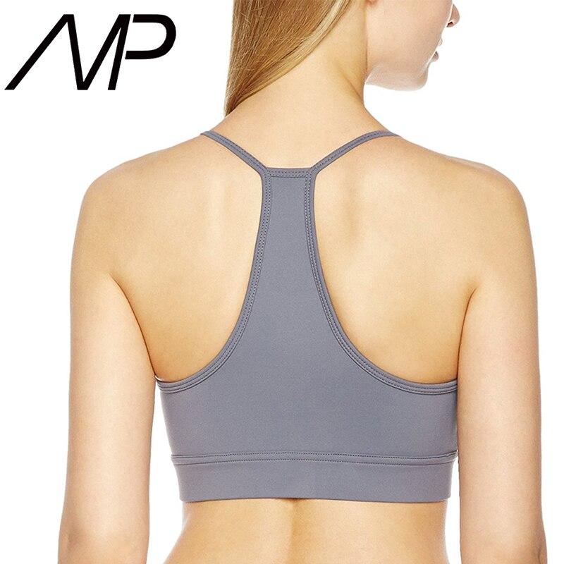 8f7b809b974 MP 2018 New Trend Custom Girls Breathable Plus Size Criss Cross Sports Yoga Bra  Sports Running Bras Fitness Underwear-in Sports Bras from Sports ...
